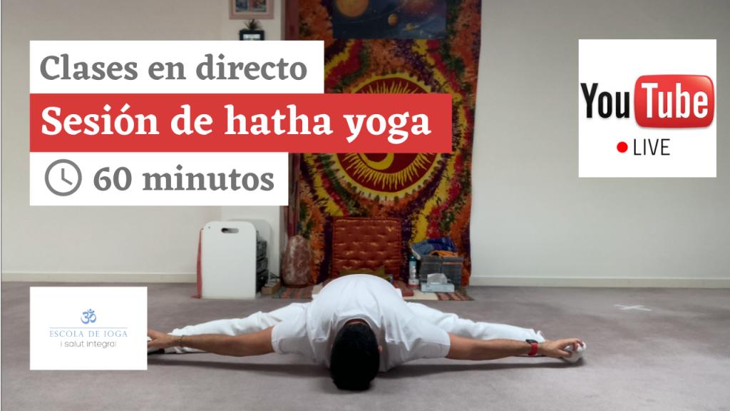 Hatha yoga. Miércoles 24 de marzo a las 18:20